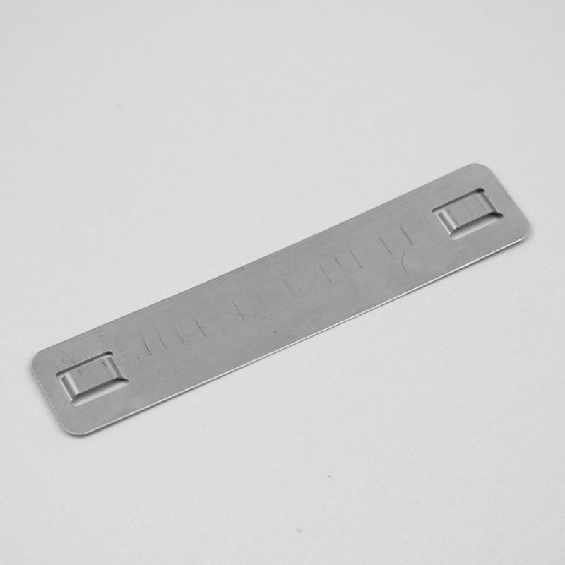 Plaquette aluminium laiton plaque de firme etigo for Plaque aluminium cuisine sur mesure